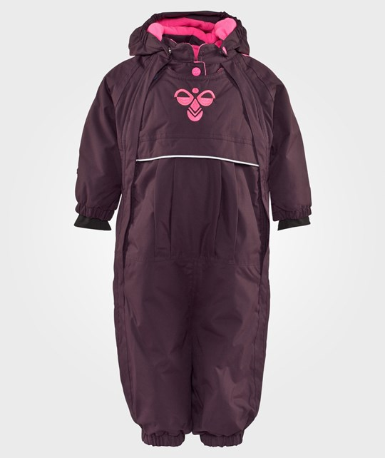 Hummel Star Snowsuit Aw15 Plum Perfect Rosa