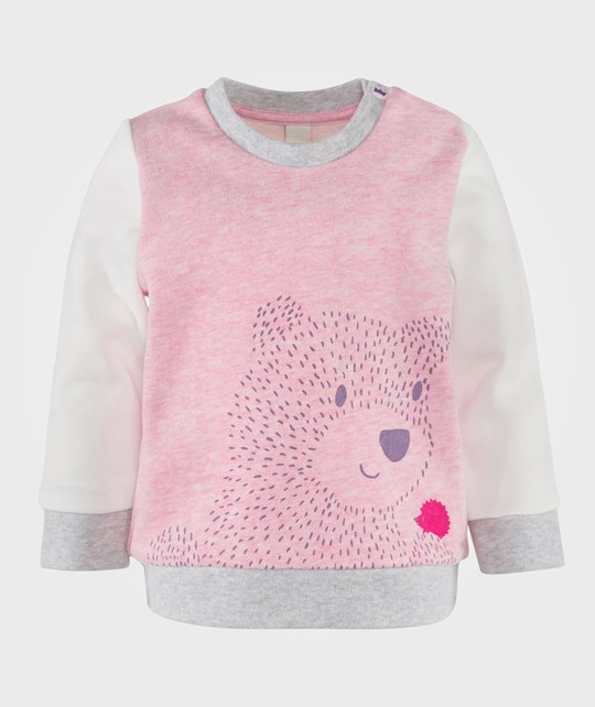 Esprit Bear Sweatshirt Light Pink Pink