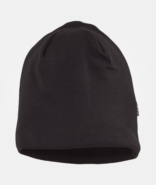 Mikk-Line Hat wool w cotton lining Black Black