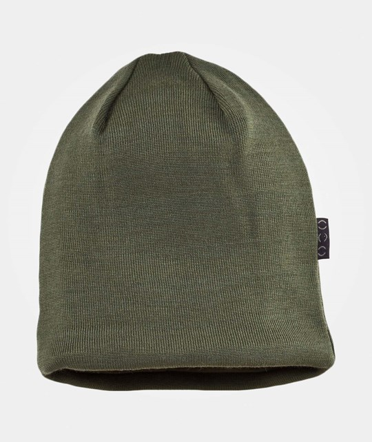 Mikk-Line Hat wool w cotton lining Olive Olive