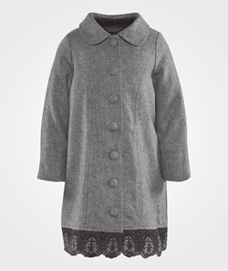 Noa Noa Miniature Mini Wool Jacket Grey Melange