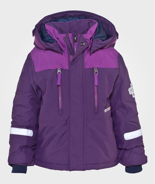 Didriksons Hamres Kids Jkt Amaranth Purple