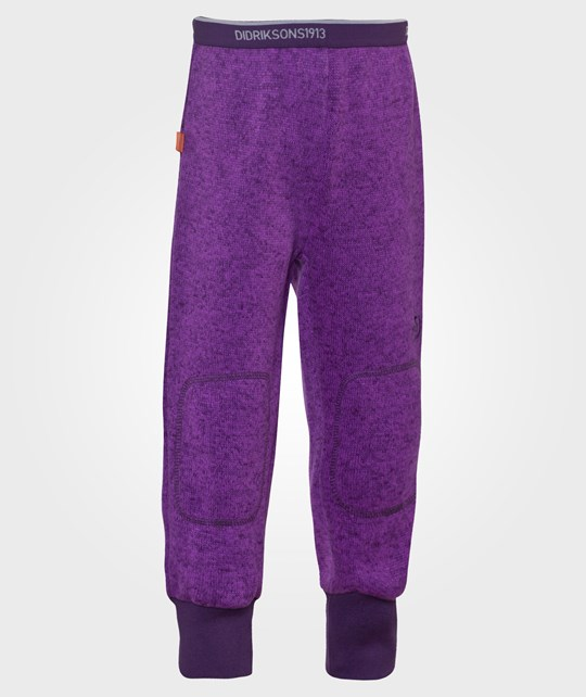 Didriksons Поддева Флис   Etna Kids Pants Amethyst фиолетовый
