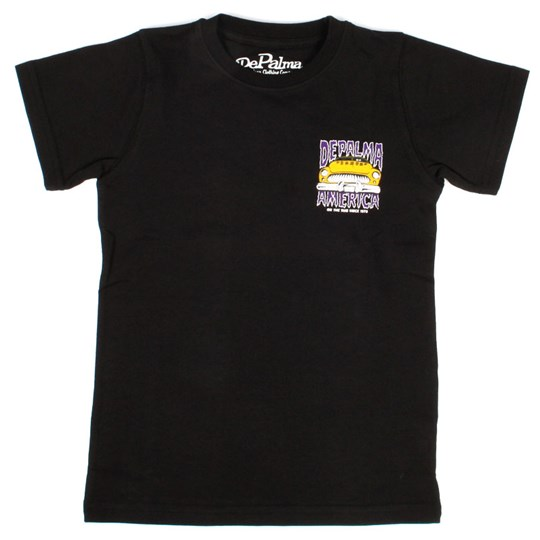 DePalma CSM Road T-shirt Black