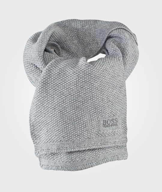 BOSS Scarf Grey Marl Grå