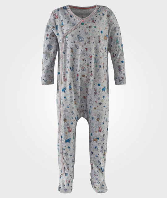 Little Marc Jacobs Pyjamas Grey Marl Grå