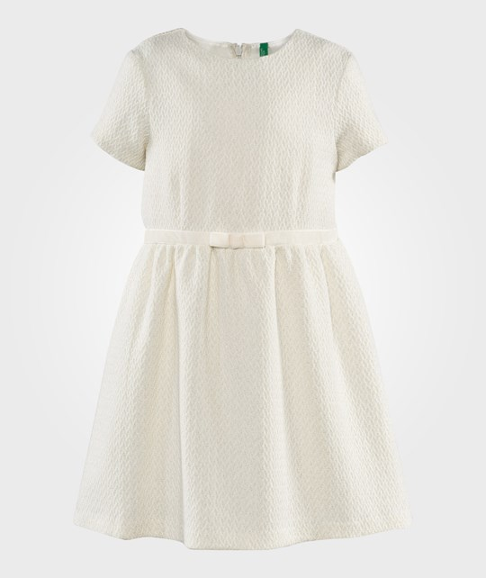 United Colors of Benetton Bow Detail On The Waist Cream Vit