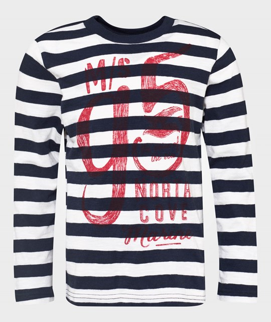 United Colors of Benetton Off White Stripy All Over Design On The Front Hvid