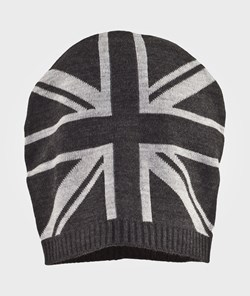 United Colors of Benetton Hat And Scarf Set Charcoal Grey