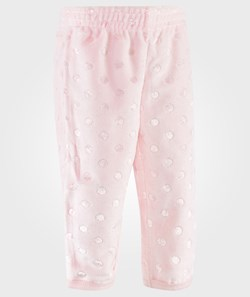 United Colors of Benetton Elastic Cuff Dot Inprinted Track Bottoms Pink