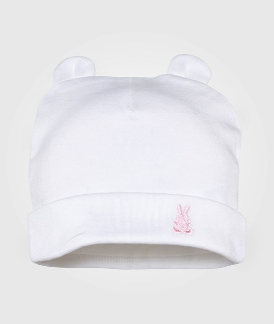 United Colors of Benetton Cotton Hat 2 Pack Off White Vit