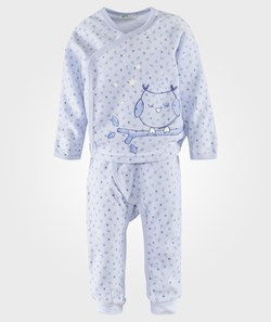 United Colors of Benetton Top + Trousers Pajama Set Blue