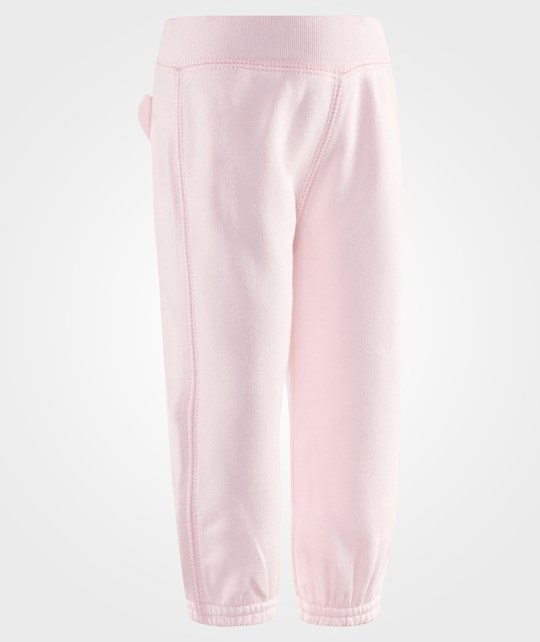United Colors of Benetton Teddy Bum Track Bottoms Pale Pink Pink