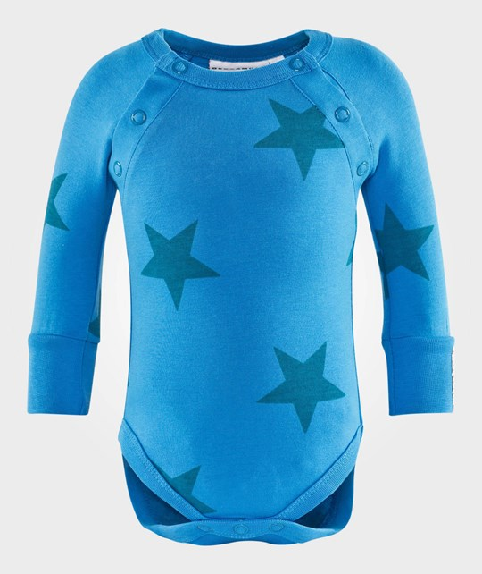 Geggamoja Longsleeved Body Blue Star Sininen