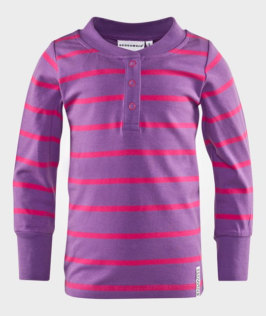 Geggamoja Grandpa Sweater Lilac/Cerise Purple