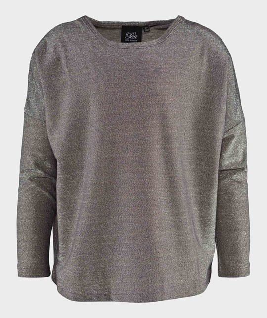 Petit by Sofie Schnoor Long Sleeved Blouse Silver Silver