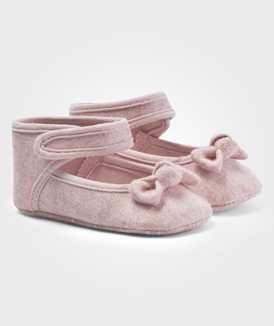 United Colors of Benetton Baby Shoes With Ankle Strap And Bow Detail On The Toes Pink Pink
