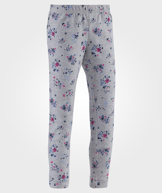 United Colors of Benetton Star Print Leggings With Stichings Aruond The Knees Dark Blue Blå