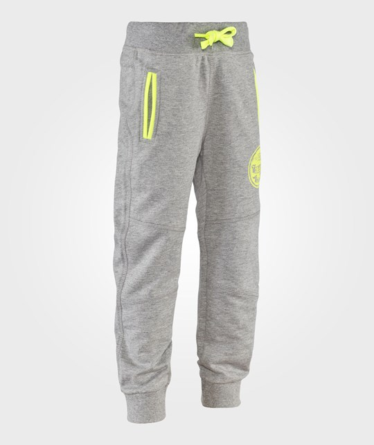 United Colors of Benetton Drawstring Sweat Pants In Grey Grå