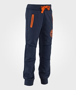 United Colors of Benetton Drawstring Sweat Pants in Navy
