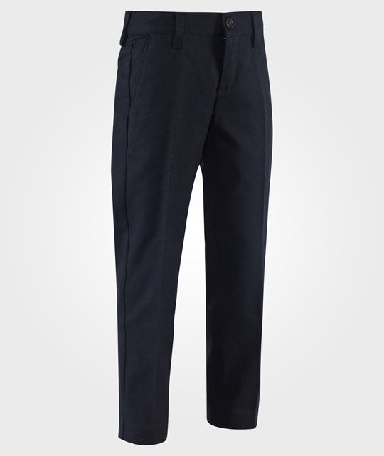 United Colors of Benetton Tailored Trousers Black Svart