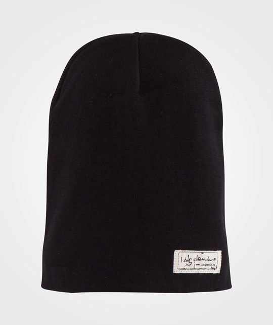 I Dig Denim Leon Beanie Black Sort