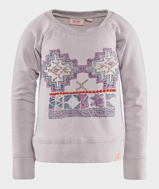 Noa Noa Miniature Mini Deco Sweat Iris Lila