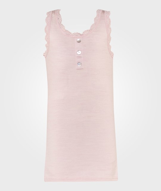 Hust&Claire Lace Undershirt in Pink Melange Rosa