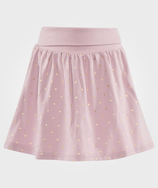 Hust&Claire Skirt Gold Dots Powder Rose Rosa