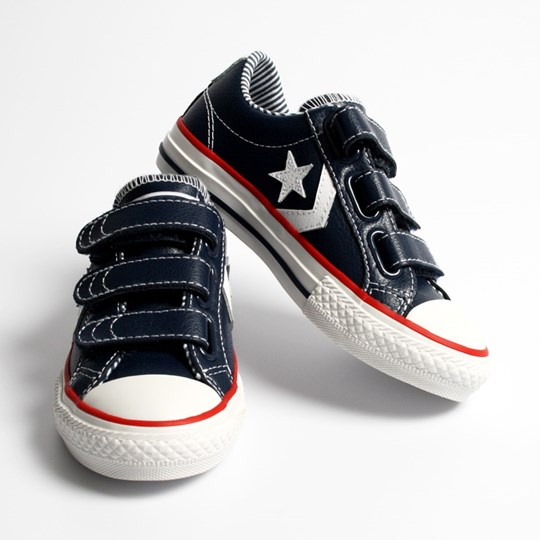 Converse Star Plyr Navy/Red Blue