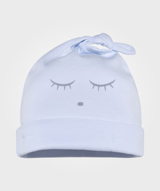 Livly Sleeping Cutie Tossie Hat Blue/Grey Blue