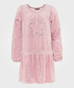 Hust&Claire Powder Rose Velvet Dress