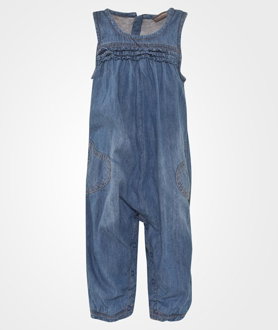 Hust&Claire Denim Jumpsuit Sand