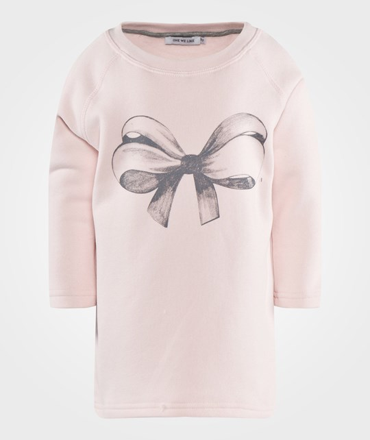 One We Like Flash Bow Tunic Pink Pink