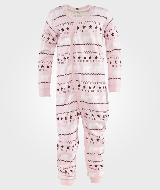 Hust&Claire Polar Bear Jumpsuit Pink