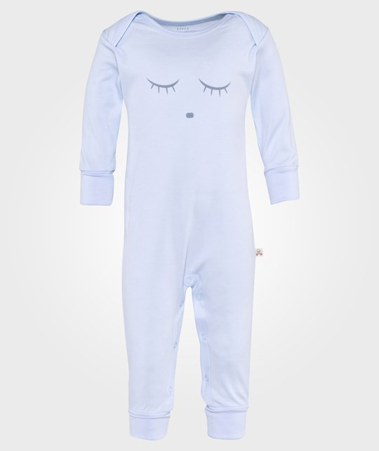 Livly Sleeping Cutie Coverall Blue/Grey Blue