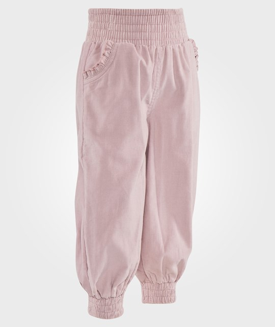 Hust&Claire Trousers Cordyroy Powder Rose Rosa