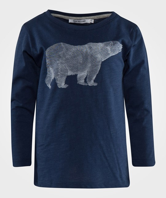 One We Like One Long sleeve T-Shirt Bear Navy Navy