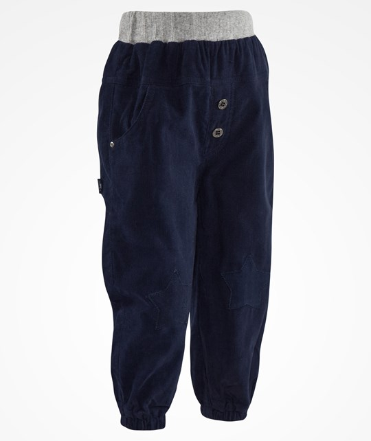 Hust&Claire Trousers Baby Corduroy Night Blue Sand