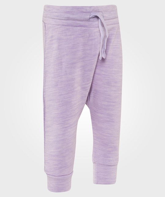 Hust&Claire Baggy Wool Trousers in Lavender Lilla