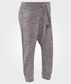 Hust&Claire  Baggy Wool Trousers in Grey
