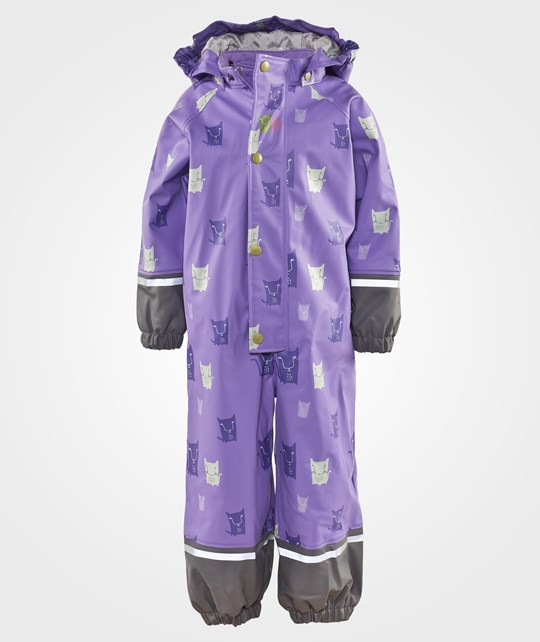 Kattnakken Rain Suit Purple Lilla