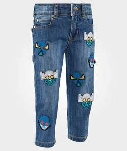 Stella McCartney Kids Lohan Trouser Denim Super Hero