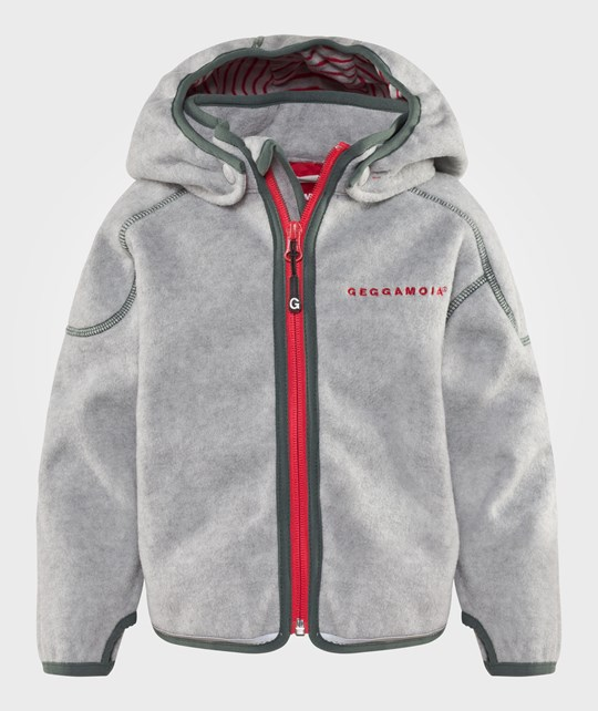 Geggamoja Wind Fleece Jacket Grey Melange Grey