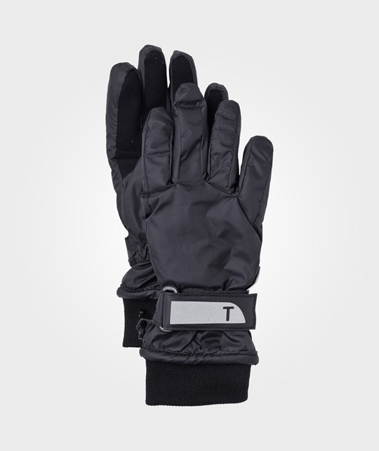 Ticket to heaven Mini Ribstop Gloves Black Black