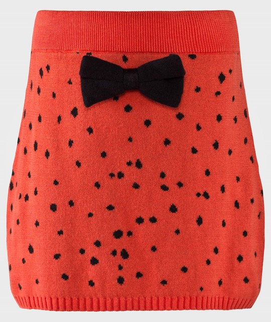 Mini Rodini Knitted Skirt Red Red
