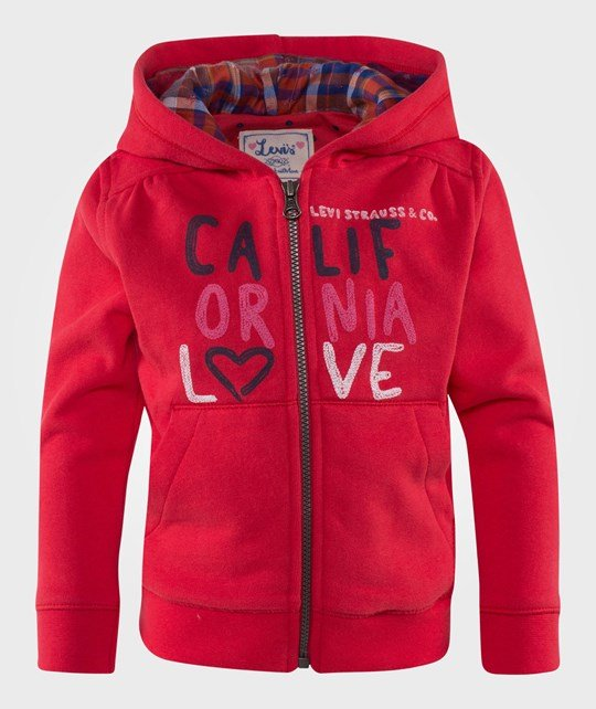 Levis Kids Baby Cardigan Dark Red Röd