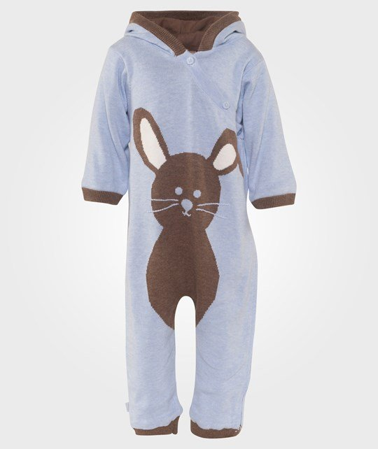 Hust&Claire Bunny Jumpsuit in Light Blue Blå