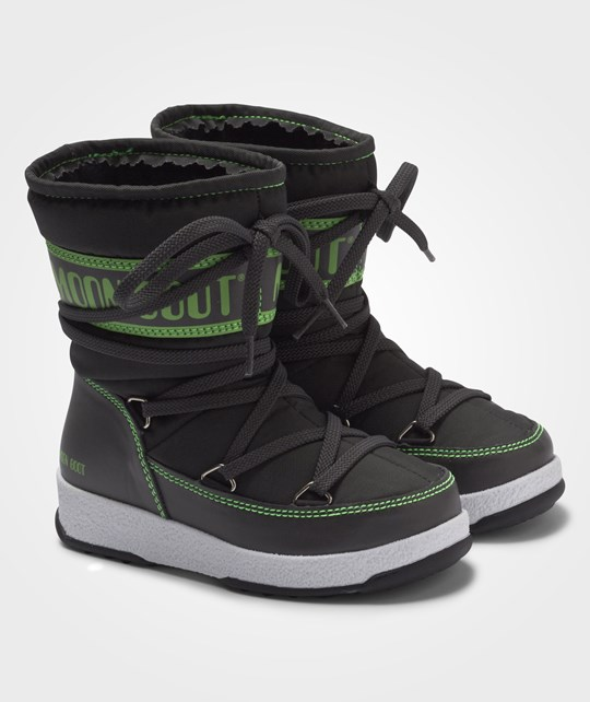 Moon Boot Moon Boot W.E. Sport Jr Grey-Green Grå