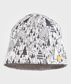 The Bonnie Mob Reversible Hat Monochrome Woodland